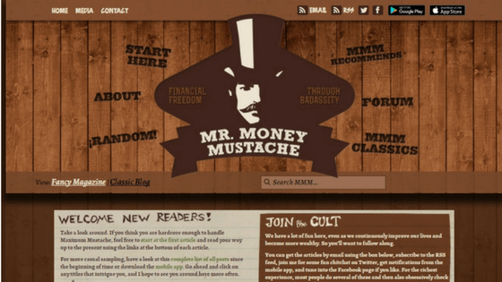 Follow Friday – Mr. Money Mustache
