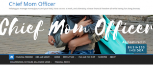 Chief Mom Officer Blog