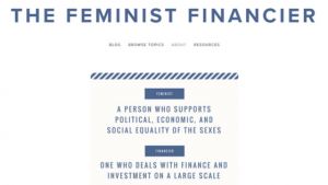 Feminist Financier blog