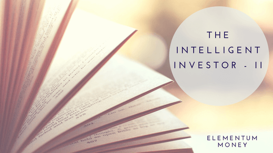 Book Club – The Intelligent Investor – II