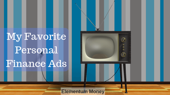 My Favorite Personal Finance Ads