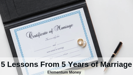 5 Lessons From 5 Years of Marriage