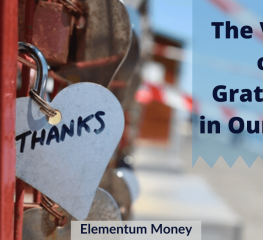 The Value of Gratitude in Our Lives